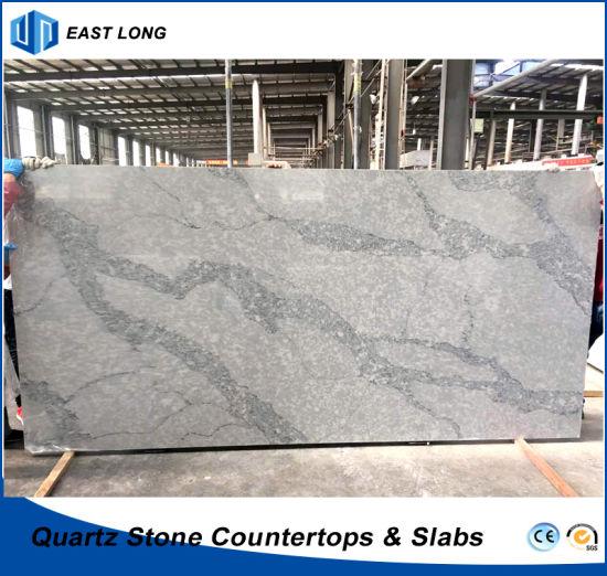 Wholesale Engineered Stone for Quartz Countertops/Building Materials with SGS Report (Calacatta)