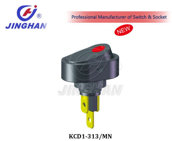 Kcd1-313/Mn Automotive Switch Spst 3p Switch