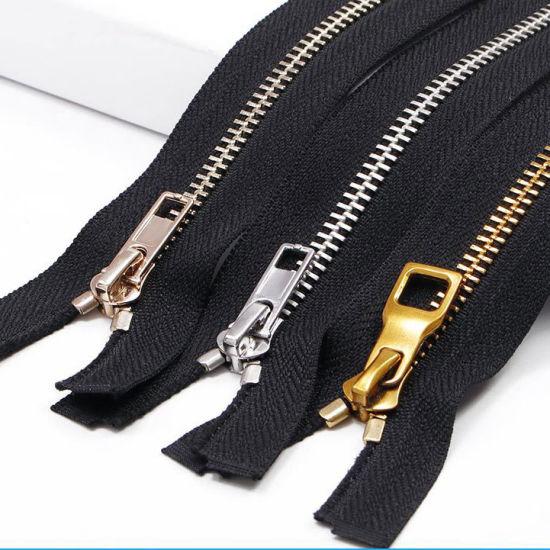 High Quality 5# Titanium Alloy Y Teeth Zipper High Strength Titanium Metal Zipper