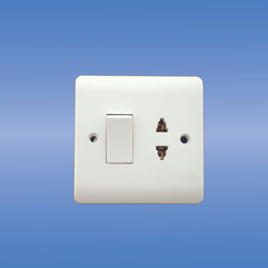China 16a 1-G Multi Function Socket+20a Double Pole Switch - China ...