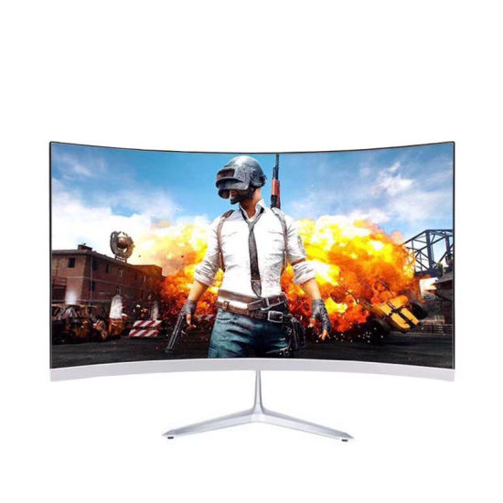 24 Inch Curve Frameless Ultra-Slim LED Game Monitor for Desktop and Home FHD 1080P --TV&Monitor Factory