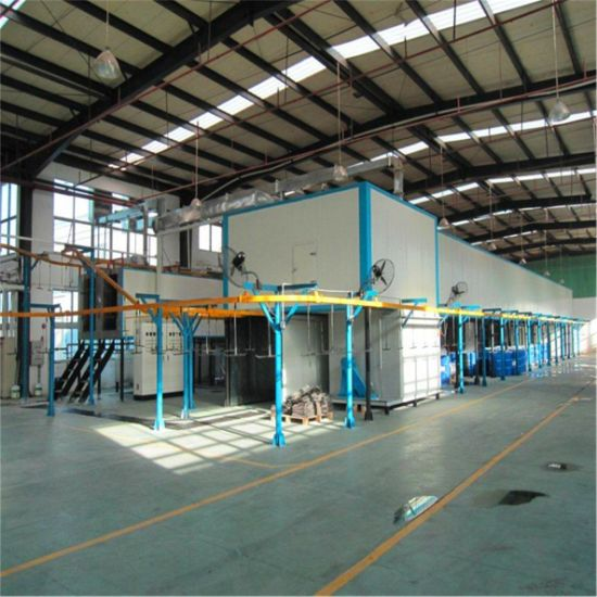 Automatic Liquid/Powder Coating Spray Production Line for Doors
