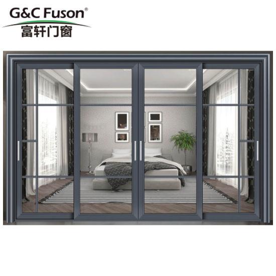 China Sliding Glass Door Soundproof Wooden Door China Door