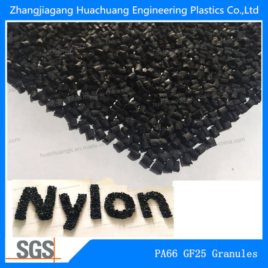 PA66 25%Glass Fiber Toughened Granules for Raw Material
