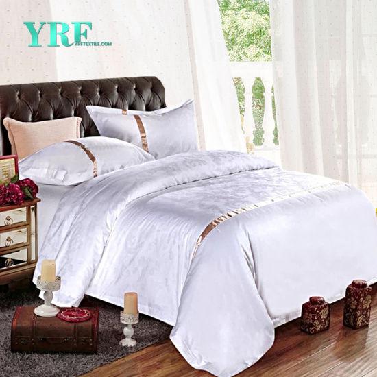China Yrf Cotton White Bed Sheet Satin Flat Sheet Fitted Sheet