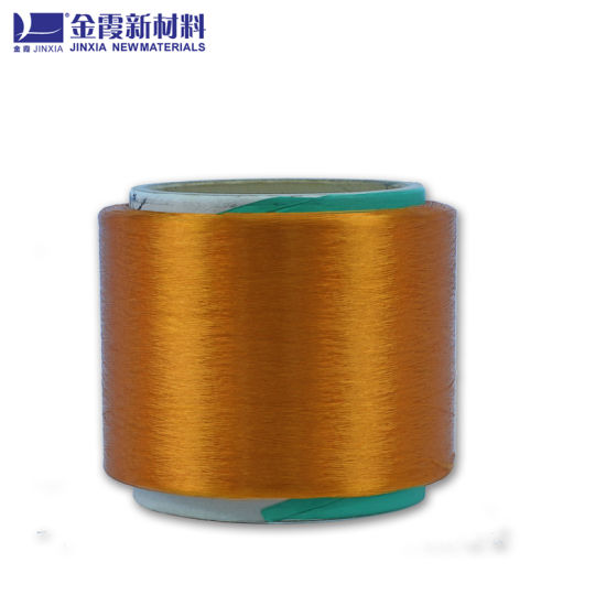 FDY Dope Dyed 500d/288f Filament Polyester Yarn Cn/Dtex Medium Tenacity pictures & photos