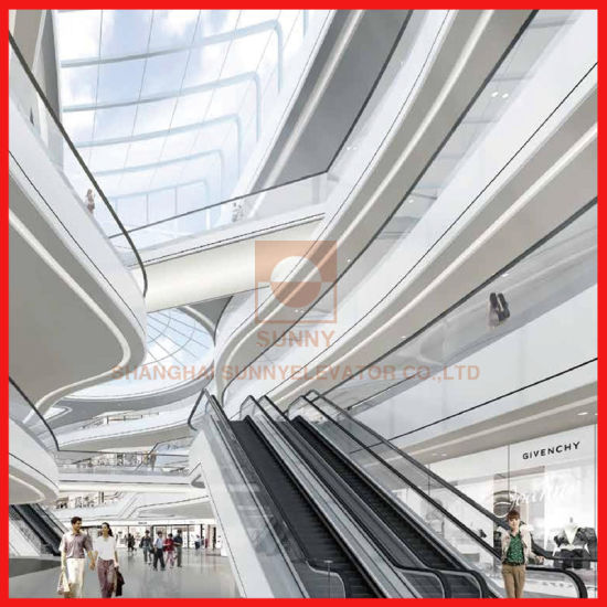 Speed 0.4m/S and 30 Degree Modern Design Automatic Mechanical Escalator