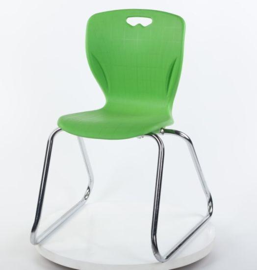 PP Plastic Chair Student School Classroom Furniture