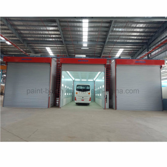 Infitech Wholesale Bus Truck Automobile Vehicle Refinish Paint Spray Booth pictures & photos