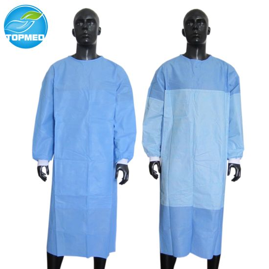 7f7159bebe7 Disposable SMS Surgical Gown, SBPP Medical Gowns for Operation Room  pictures & photos
