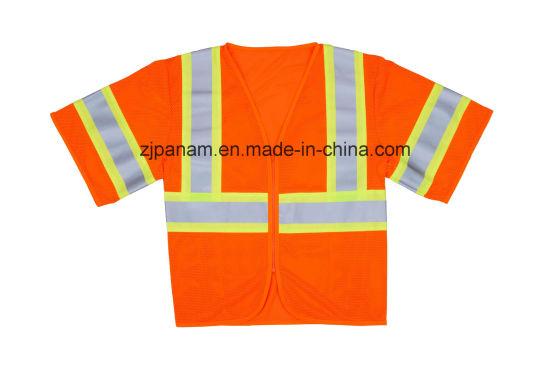 Safety Vest ANSI /Isea 107-2015 Eniso20471