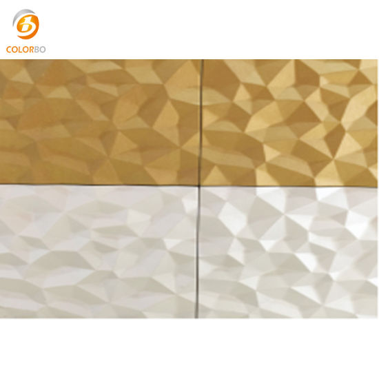 China Printing PVC Finish Surface Wooden MDF 3D Decorative Wood ...
