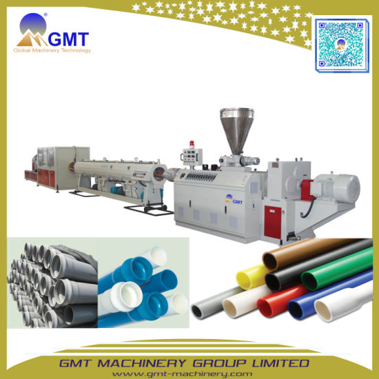 630mm PE HDPE PVC Water Gas Supply Plastic Pipe Tube Extruder Making Machine Factory