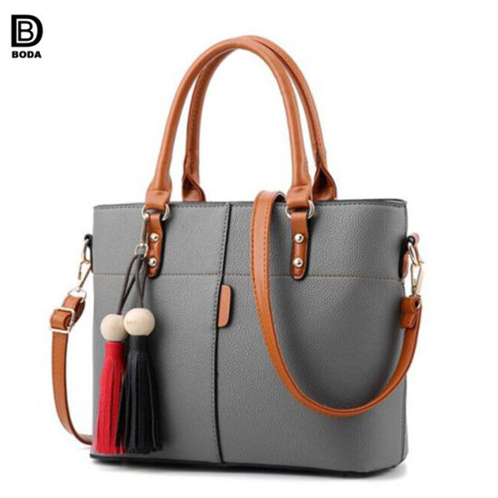 New Design Por European Pu Handbag For Las Weekend Ping