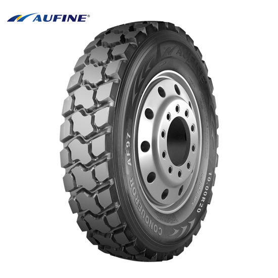 Aufine 10.00r20 11.00r20 Hot Sale Truck Tyre with High Performance