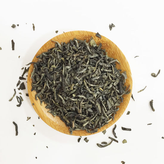 41022 Sample Chinese Non-Polluted Organic Chunmee Green Tea, China Green Tea Flecha Quality