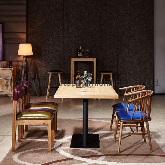 Wondrous Wooden Chair Modern Furniture European Antique Wood Furniture Cafe Furniture Set Hot Pot Table Chair Sp Ct789 Theyellowbook Wood Chair Design Ideas Theyellowbookinfo