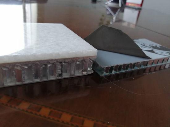 Granite Stone Honeycomb Panel Compare with Metal Aluminum Honeycomb Panel