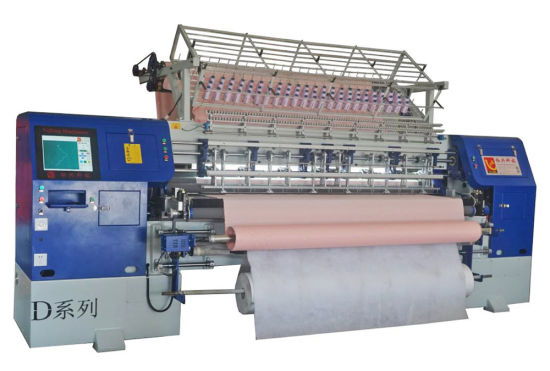 China New 1000rpm Industrial Lock-Stitch Quilting Machine for Garments with Automatic Lubrication