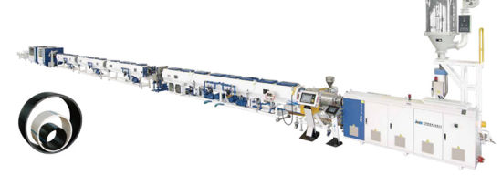 Jwell Plastic PPR Hot Cooling Water Pipe Machine/PVC Pipe Making Machine/HDPE Solid Pipe Extruder Machine