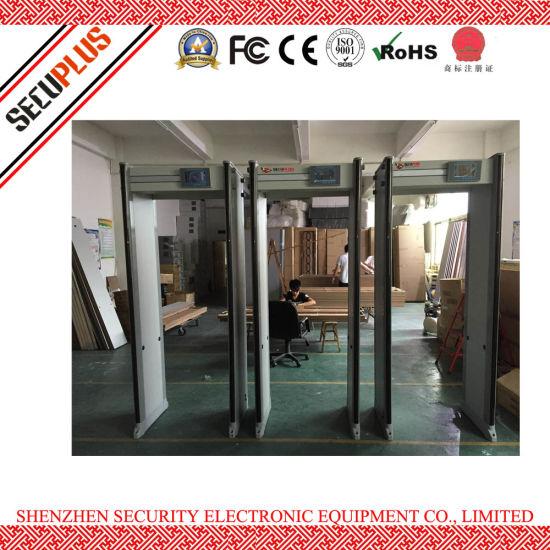 Muti-Zone Door Frame Metal Detector Body Scanner Gate for airport
