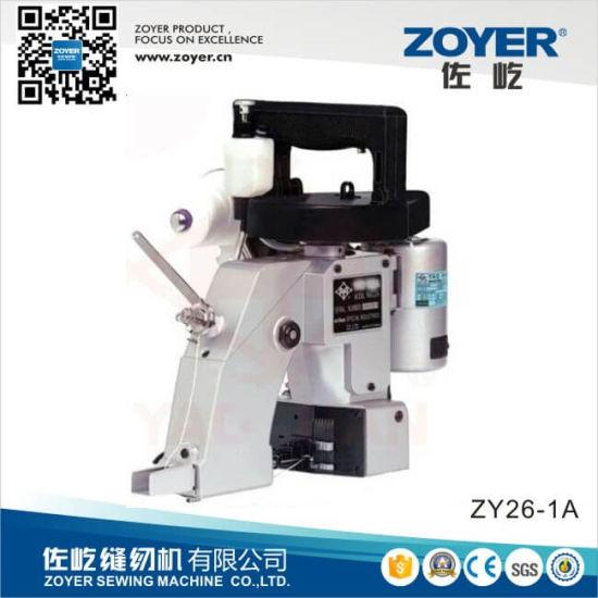 Zy-26 Portable Bag Closer Zoyer Sewing Packing Sealing Machine