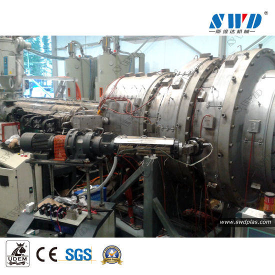 PE Pipe Extrusion Line and Germany HDPE Pipe Production Line