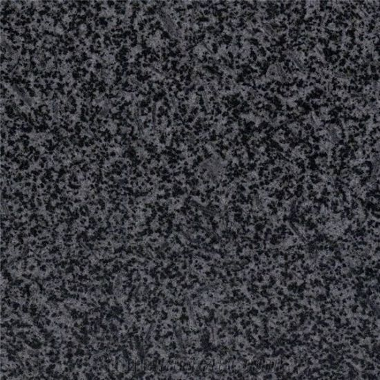 30mm Thick Black G654 Polished Black Granite Wall Exterior Wall Stone Tile