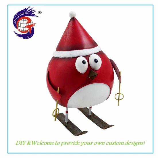 Wholesale Metal Penguin Garden Decoration Home Ornament Promotion Gift