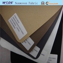 Polyester 100% Needle Punched Nonwoven Fabric and for Shoe Linning Making pictures & photos