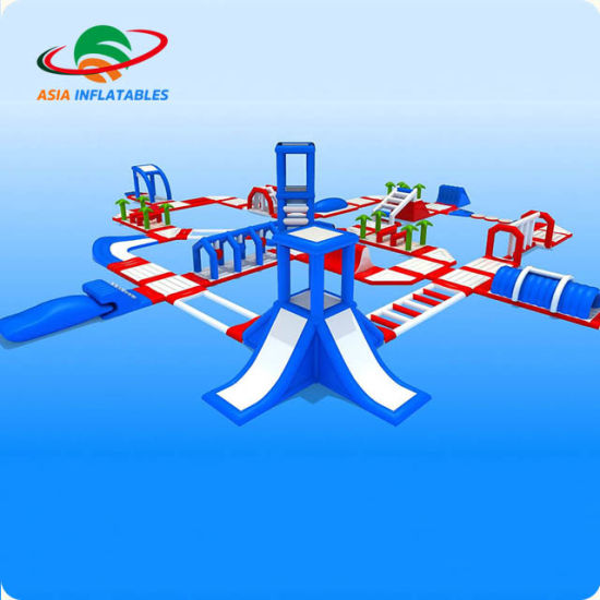 Inflatable Floating Water Park, Interesting and Thrilling Inflatable Water Toys