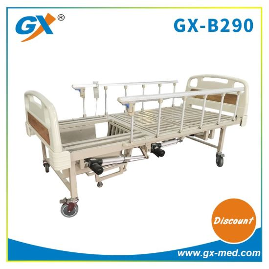 5 Function Electric Hospital Bed Turning Over Home Nursing Bed with Commode Bucket