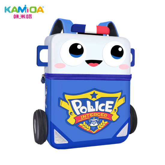 Kamida 3D Autobots Cartoon Bagpack Children Polyester Backpack Toddler School Bag for Boys Girls