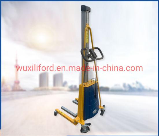 Electric Lifting Aluminium Work Positioner Mini Type Stacker E100