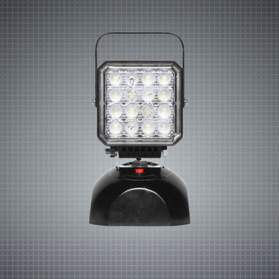 24W Truck Trailer Tractor Light Rechargeable Portable LED Car Working Work Lights