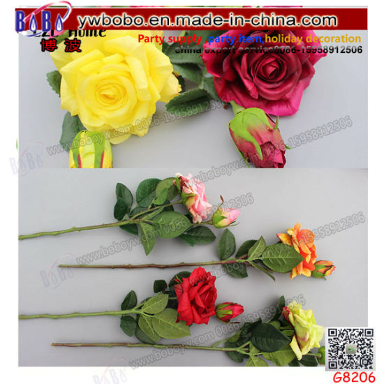 Artificial Fake Silk Flowers Wedding Bridal Hydrangea Supplies Garden Decor