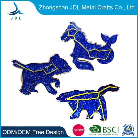 Promotional Items Free Sample Cheap Wholesale Emblem Custom Metal Hard Soft Enamel Sport Lapel Pin Badge (020)
