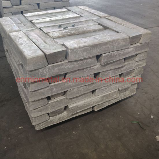 Competitive Price Magnesium /Mg Ingot Purity 99.8~99.98 Made in China