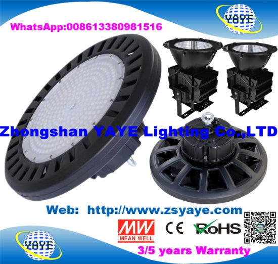 Yaye 18 Hot Sell Ce/RoHS SMD3030 Osram Bridgelux Meanwell 100W UFO LED High Bay Light / LED Industrial Light / Outdoor LED High Bay Light
