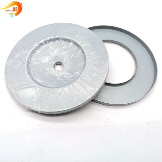 Custom Metal Stamping Parts International Standard Filter End Caps for Cartridge Filter