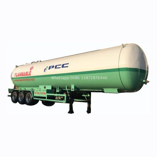 Good Quality 58.5m3 59m3 60m3 Pressure Vessel Tank Trailer