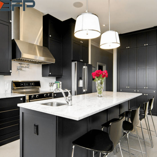 China Northern Europe Kitchen Cabinets Black Kitchen Ideas For
