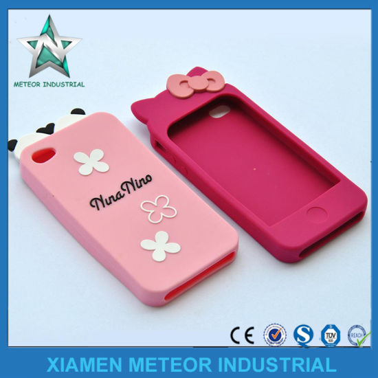 Customized Silicone Rubber Plastic Injection Moulding Silicone Protective Cover Case for Mobile Phone pictures & photos