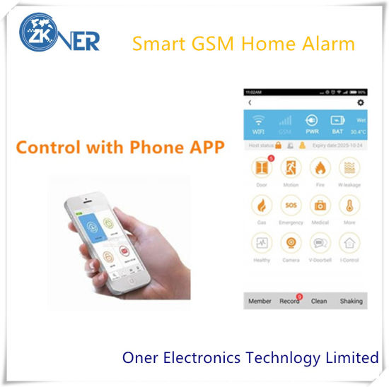 Smart GSM Home Alarm Security System