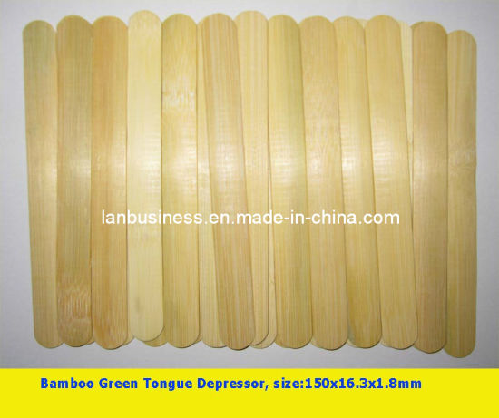 Ly Disposable Bamboo Stick Tongue Depressor