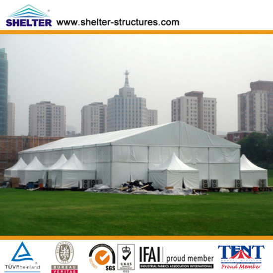 [Hot Item] Large Temporary Industrial Warehousetent, Outdoor Tent, Event  Tent, Exhibition Tent Made by Shelter Tent Manufacturers