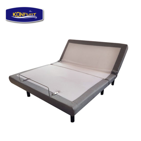 Bedroom Electric Adjustable Bed Single Size Bed with Massage Function pictures & photos