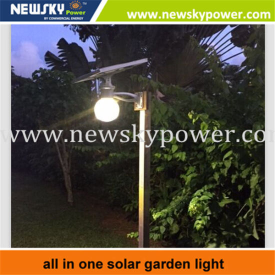 High Quality 12W Solar LED Garden Lamp/Light/Lighting pictures & photos