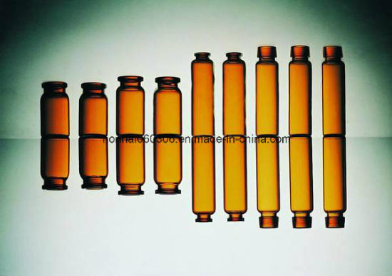10ml Amber Tubular Glass Vial pictures & photos