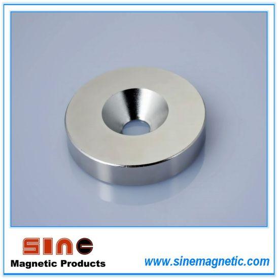 Permanent Neodymium (NdFeB) Ring Magnet N35/N38/N40